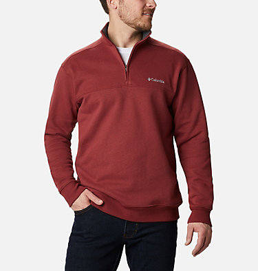 Men's Hart Mountain™ II Half Zip Hart Mountain™ II Half Zip | 345 | XL, Red Jasper, front