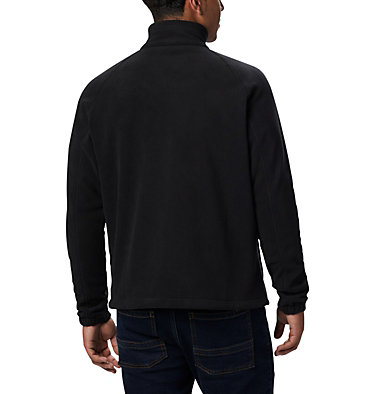 Men's Fast Trek™ II Full Zip Fleece - Plus Size Fast Trek™ II Full Zip Fleece | 010 | 1X, Black, back