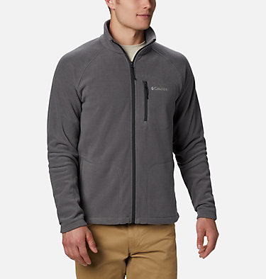 Men's Fast Trek™ II Full Zip Fleece – Big Fast Trek™ II Full Zip Fleece | 010 | 2X, City Grey, front