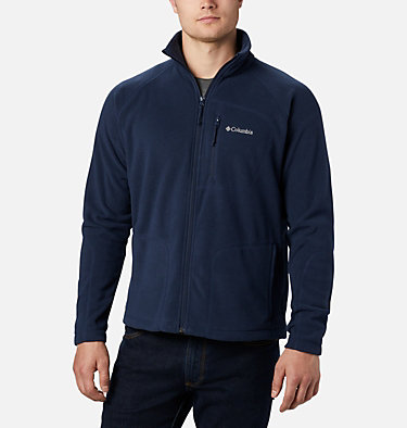 Men's Fast Trek™ II Full Zip Fleece – Big Fast Trek™ II Full Zip Fleece | 010 | 2X, Collegiate Navy, front