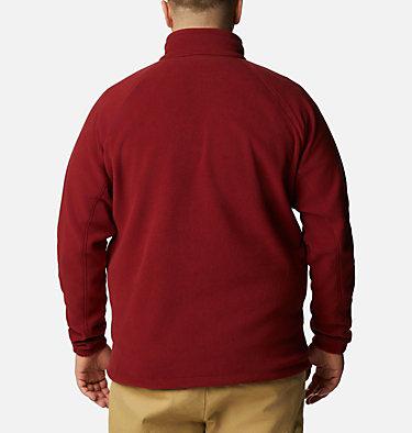 Men's Fast Trek™ II Full Zip Fleece - Plus Size Fast Trek™ II Full Zip Fleece | 010 | 1X, Red Jasper, back