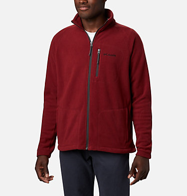 Men's Fast Trek™ II Full Zip Fleece - Plus Size Fast Trek™ II Full Zip Fleece | 010 | 1X, Red Jasper, front
