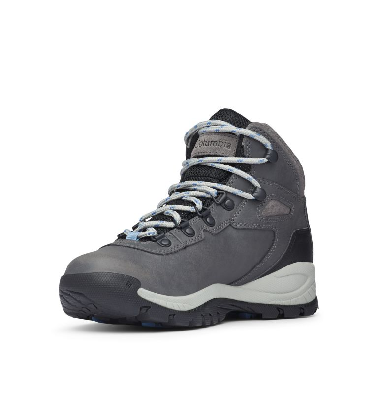 NEWTON RIDGE™ PLUS WIDE | 052 | 5.5 Women's Newton Ridge™ Plus Waterproof Hiking Boot - Wide, Quarry, Cool Wave