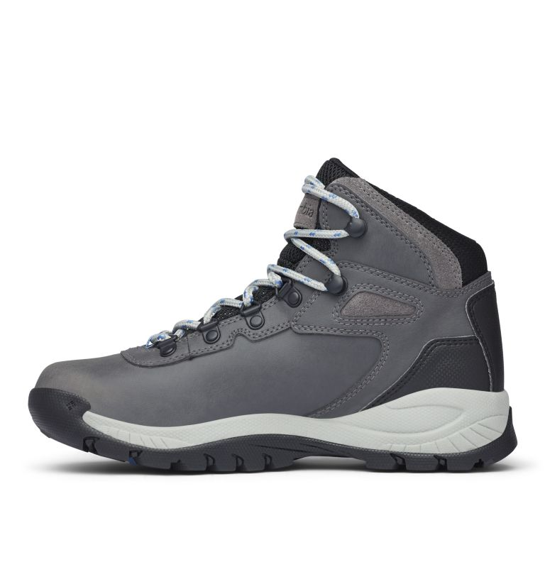 NEWTON RIDGE™ PLUS WIDE | 052 | 8 Women's Newton Ridge™ Plus Waterproof Hiking Boot - Wide, Quarry, Cool Wave, medial