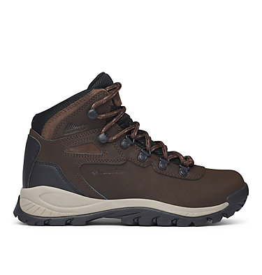 Women's Newton Ridge™ Plus Waterproof Hiking Boot - Wide NEWTON RIDGE™ PLUS WIDE | 052 | 10, Cordovan, Crown Jewel, front