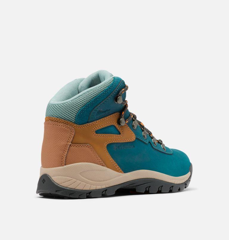 NEWTON RIDGE™ PLUS WIDE | 314 | 5 Women's Newton Ridge™ Plus Waterproof Hiking Boot - Wide, Deep Wave, Dusty Green, 3/4 back