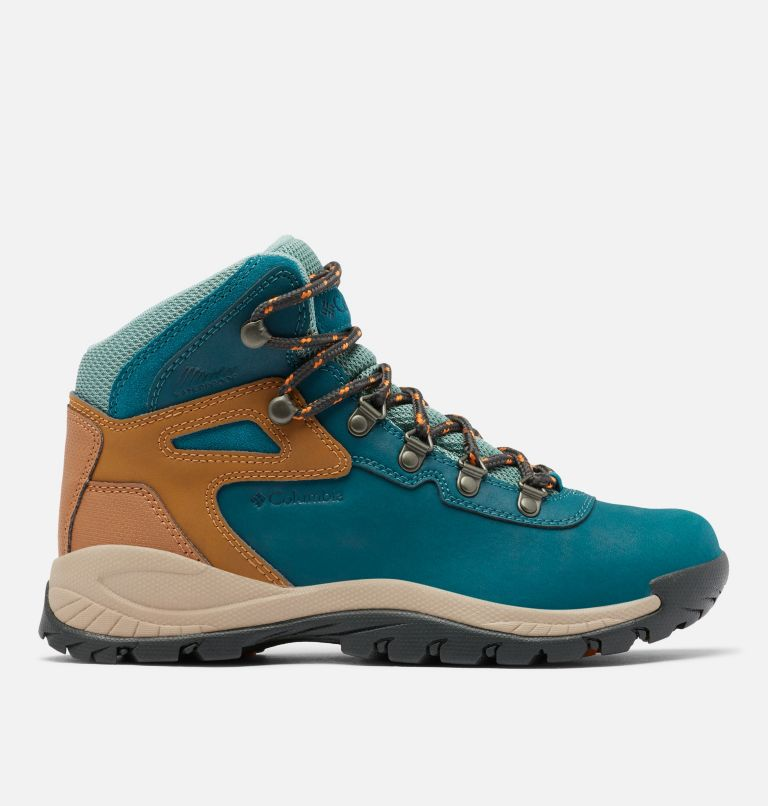 NEWTON RIDGE™ PLUS WIDE | 314 | 9 Women's Newton Ridge™ Plus Waterproof Hiking Boot - Wide, Deep Wave, Dusty Green, front