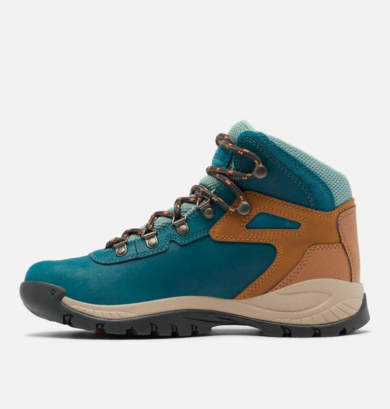 NEWTON RIDGE™ PLUS WIDE | 314 | 7.5 Women's Newton Ridge™ Plus Waterproof Hiking Boot - Wide, Deep Wave, Dusty Green, medial