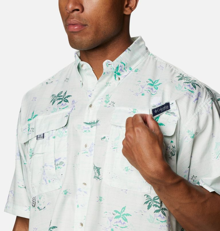 Men's PFG Super Bahama™ Short Sleeve Shirt - Big Men's PFG Super Bahama™ Short Sleeve Shirt - Big, a2