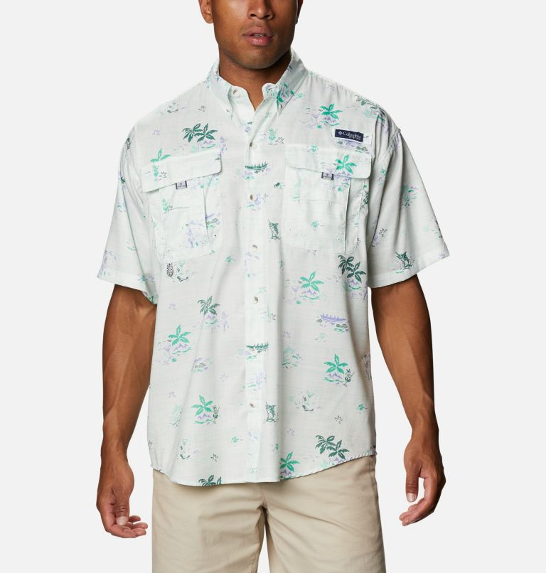 Men's PFG Super Bahama™ Short Sleeve Shirt - Big Men's PFG Super Bahama™ Short Sleeve Shirt - Big, front