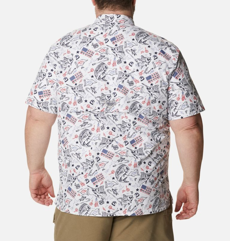 Men's PFG Trollers Best™ Short Sleeve Shirt – Big Men's PFG Trollers Best™ Short Sleeve Shirt – Big, back