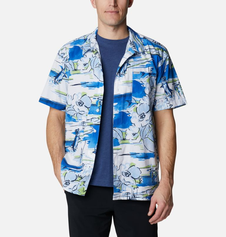 Men's PFG Trollers Best™ Short Sleeve Shirt – Big Men's PFG Trollers Best™ Short Sleeve Shirt – Big, a4