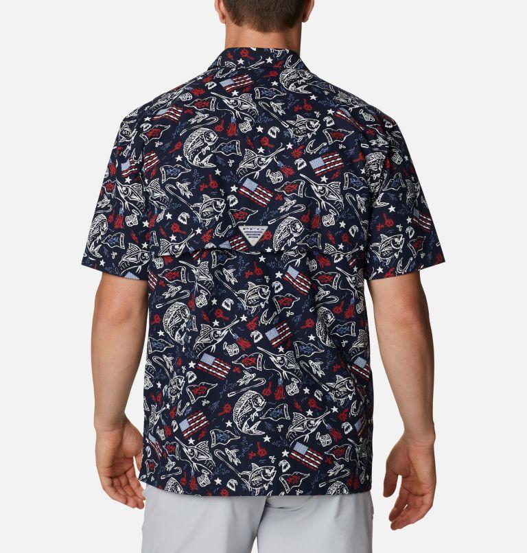 Men's PFG Trollers Best™ Short Sleeve Shirt – Tall Men's PFG Trollers Best™ Short Sleeve Shirt – Tall, back