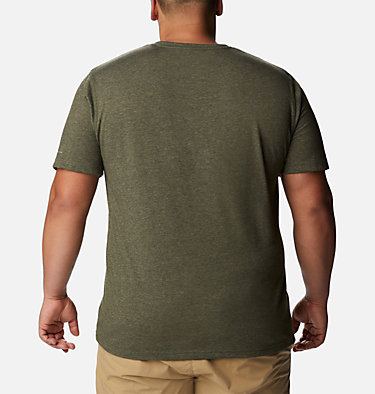 Men's Thistletown Park™ Crew - Big Thistletown Park™ Crew | 101 | 1X, Surplus Green Heather, back