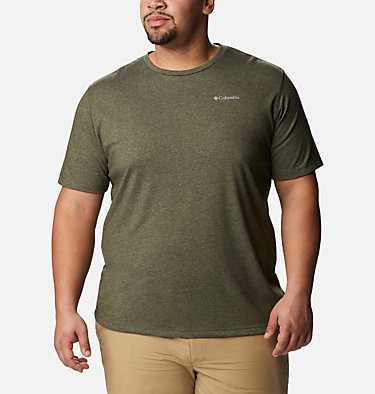 Men's Thistletown Park™ Crew - Big Thistletown Park™ Crew | 101 | 1X, Surplus Green Heather, front