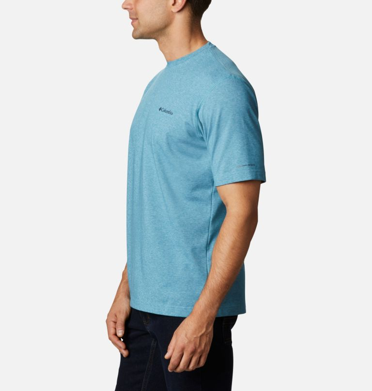 Thistletown Park™ Crew | 430 | 6X Men's Thistletown Park™ Crew - Big, Canyon Blue Heather, a1