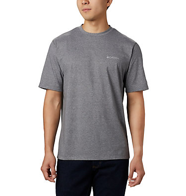 Men's Thistletown Park™ Crew - Tall Thistletown Park™ Crew | 430 | 4XT, City Grey Heather, front