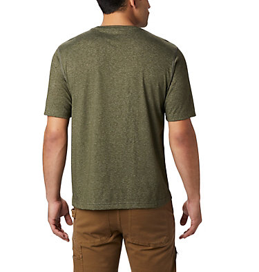 Men's Thistletown Park™ Crew - Tall Thistletown Park™ Crew | 101 | 4XT, Surplus Green Heather, back