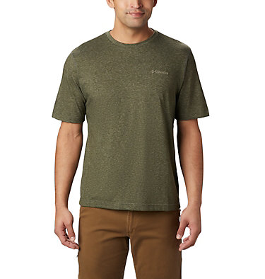 Men's Thistletown Park™ Crew - Tall Thistletown Park™ Crew | 101 | 4XT, Surplus Green Heather, front
