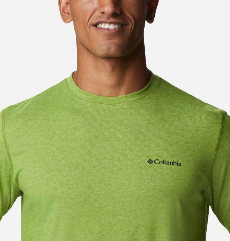 Thistletown Park™ Crew | 352 | LT Men's Thistletown Park™ Crew - Tall, Matcha Heather, a2