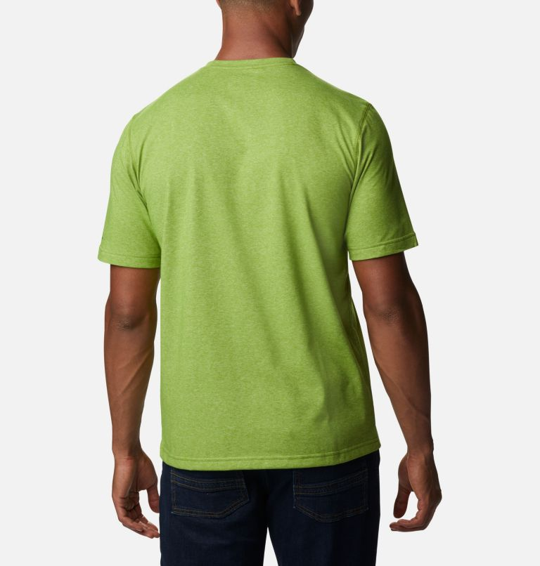 Thistletown Park™ Crew | 352 | LT Men's Thistletown Park™ Crew - Tall, Matcha Heather, back