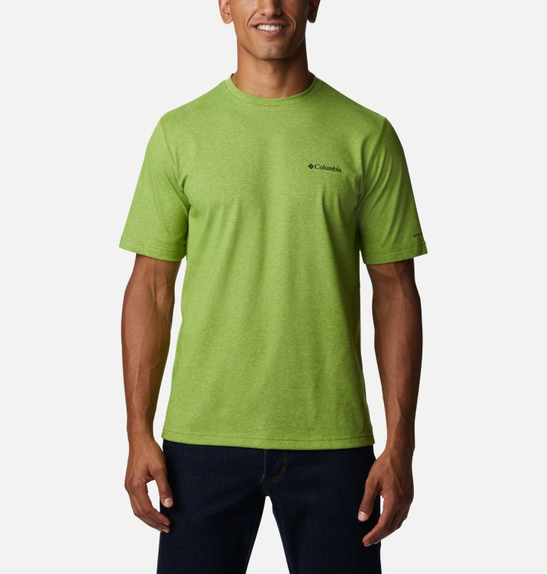 Thistletown Park™ Crew | 352 | LT Men's Thistletown Park™ Crew - Tall, Matcha Heather, front