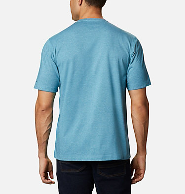 Men's Thistletown Park™ Crew - Tall Thistletown Park™ Crew | 430 | 4XT, Canyon Blue Heather, back