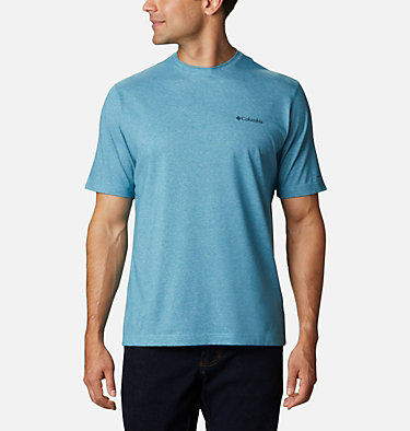 Men's Thistletown Park™ Crew - Tall Thistletown Park™ Crew | 430 | 4XT, Canyon Blue Heather, front