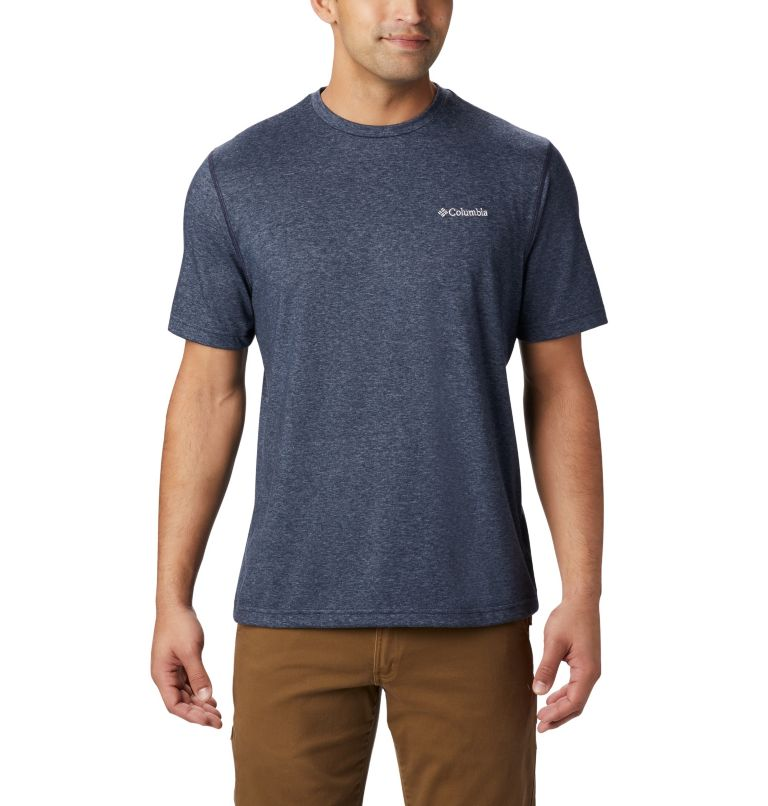 Thistletown Park™ Crew | 591 | 3XT Men's Thistletown Park™ Crew - Tall, Nocturnal Heather, front