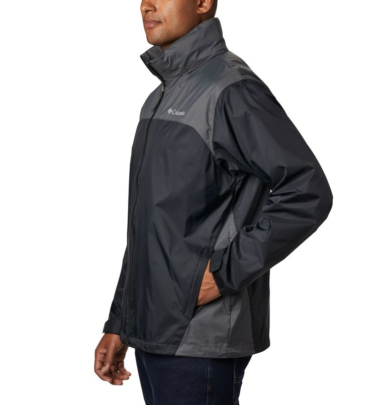 Glennaker Lake™ Rain Jacket | 010 | L Men's Glennaker Lake™ Rain Jacket, Black, Grill, a1