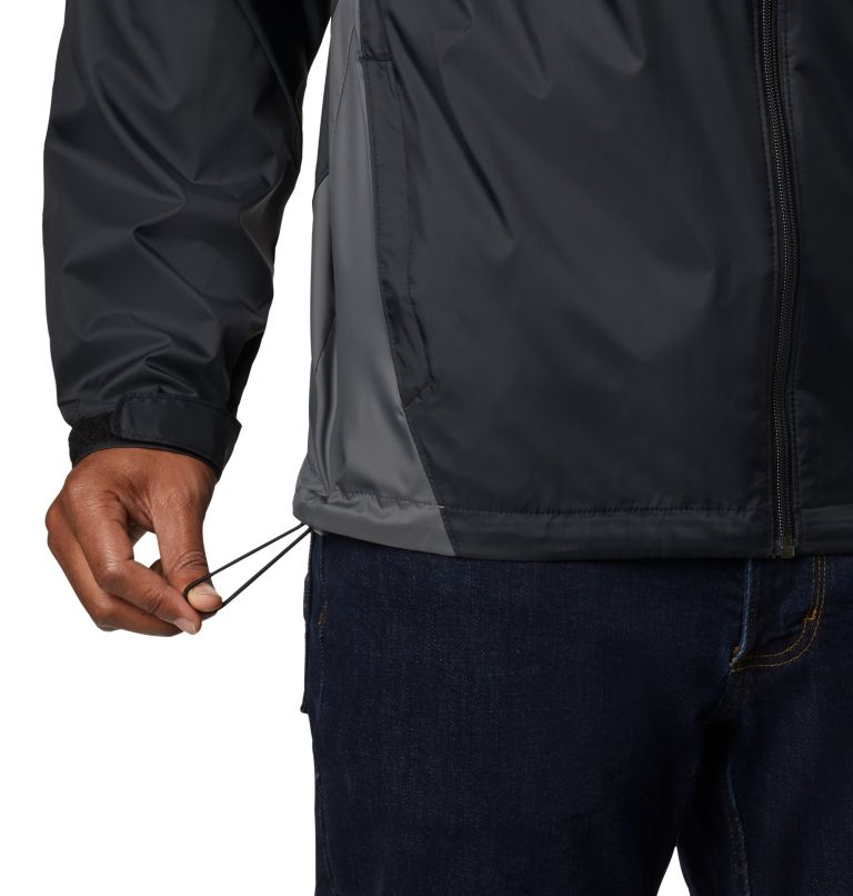 Glennaker Lake™ Rain Jacket | 010 | L Men's Glennaker Lake™ Rain Jacket, Black, Grill, a2