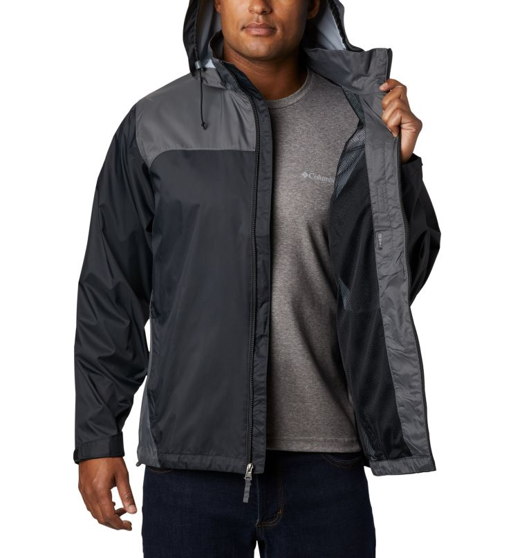 Glennaker Lake™ Rain Jacket | 010 | L Men's Glennaker Lake™ Rain Jacket, Black, Grill, a3