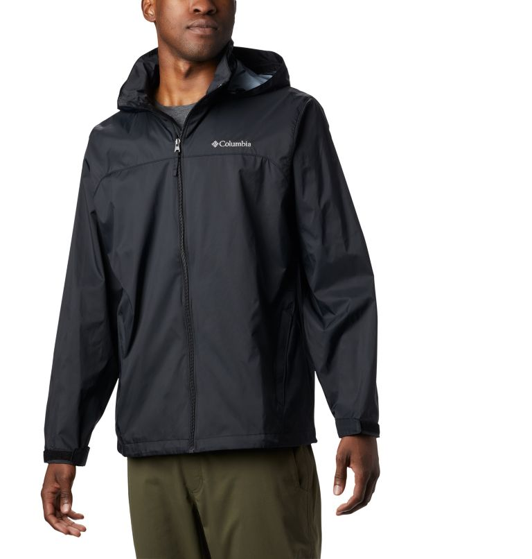 Glennaker Lake™ Rain Jacket | 012 | XL Men's Glennaker Lake™ Rain Jacket, Black, front