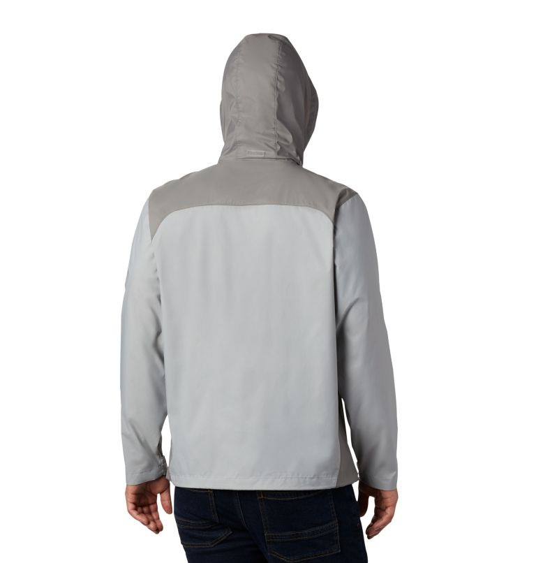 Glennaker Lake™ Rain Jacket | 039 | XL Men's Glennaker Lake™ Rain Jacket, Columbia Grey, Boulder, back