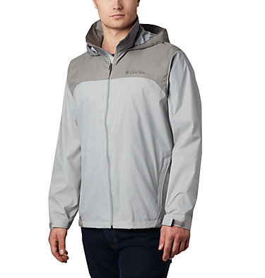 Men's Glennaker Lake™ Rain Jacket Glennaker Lake™ Rain Jacket | 820 | XL, Columbia Grey, Boulder, front