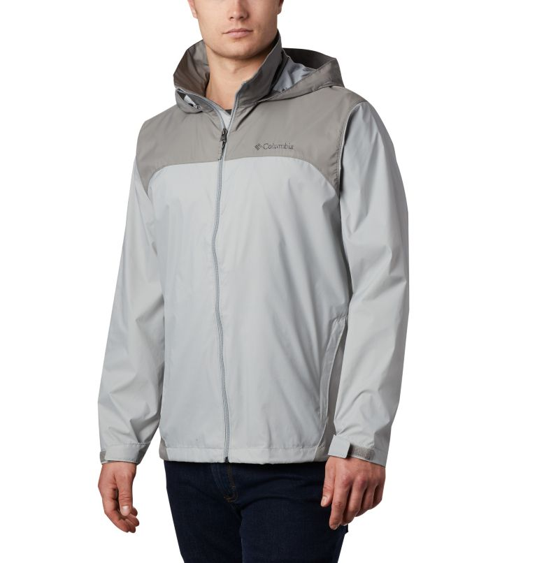 Glennaker Lake™ Rain Jacket | 039 | XL Men's Glennaker Lake™ Rain Jacket, Columbia Grey, Boulder, front