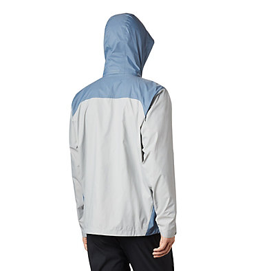 Men's Glennaker Lake™ Rain Jacket Glennaker Lake™ Rain Jacket | 820 | XL, Columbia Grey, Mountain, back