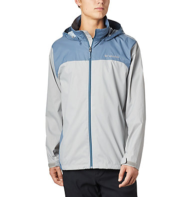 Men's Glennaker Lake™ Rain Jacket Glennaker Lake™ Rain Jacket | 820 | XL, Columbia Grey, Mountain, front