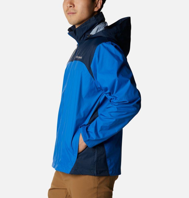 Glennaker Lake™ Rain Jacket   072   L Men's Glennaker Lake™ Rain Jacket, Blue Jay, Columbia Navy, a1