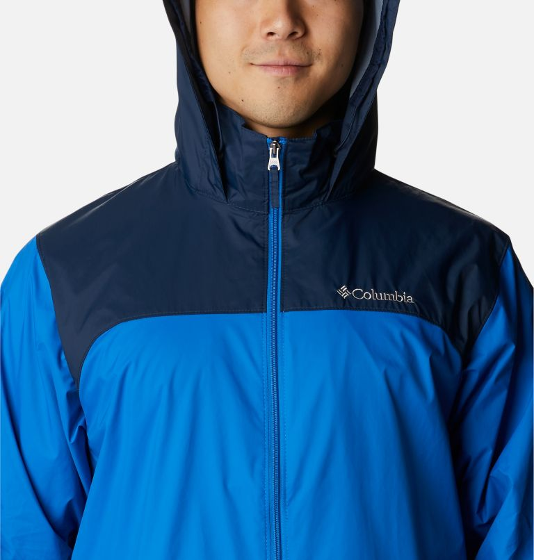 Glennaker Lake™ Rain Jacket   072   L Men's Glennaker Lake™ Rain Jacket, Blue Jay, Columbia Navy, a2