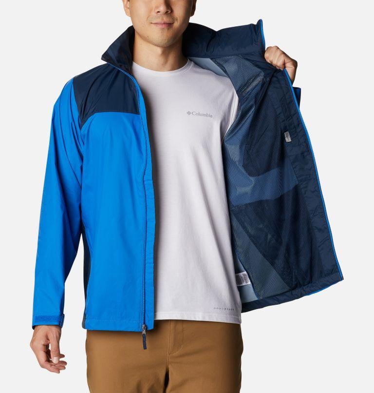 Glennaker Lake™ Rain Jacket | 072 | L Men's Glennaker Lake™ Rain Jacket, Blue Jay, Columbia Navy, a3