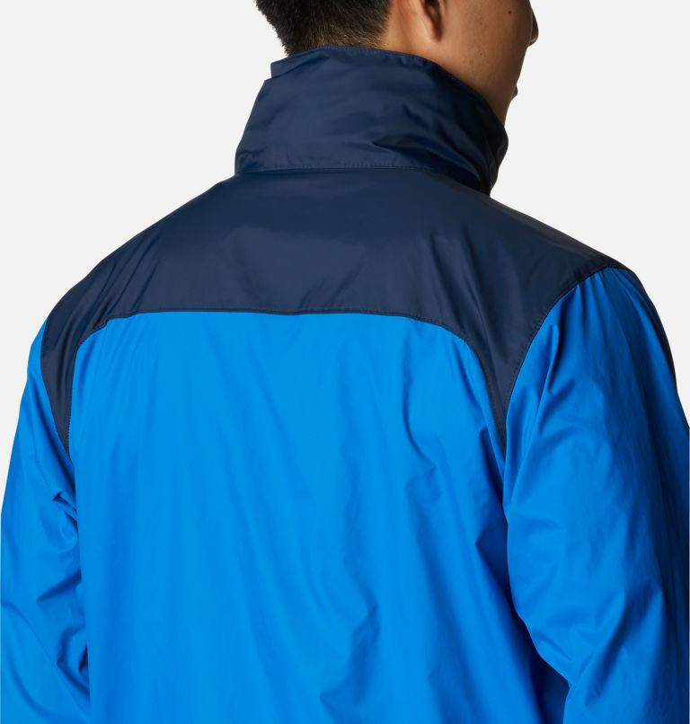 Glennaker Lake™ Rain Jacket | 072 | L Men's Glennaker Lake™ Rain Jacket, Blue Jay, Columbia Navy, a4