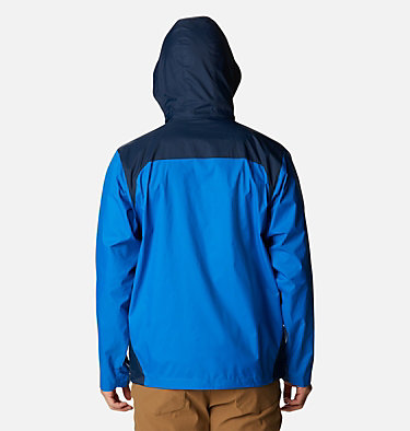 Men's Glennaker Lake™ Rain Jacket Glennaker Lake™ Rain Jacket | 820 | XL, Blue Jay, Columbia Navy, back