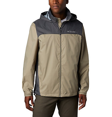 Men's Glennaker Lake™ Rain Jacket Glennaker Lake™ Rain Jacket | 820 | XL, Tusk, Grill, front