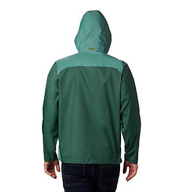 Men's Glennaker Lake™ Rain Jacket Glennaker Lake™ Rain Jacket | 375 | S, Rain Forest, Thyme Green, back