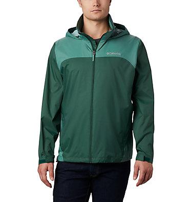 Men's Glennaker Lake™ Rain Jacket Glennaker Lake™ Rain Jacket | 375 | S, Rain Forest, Thyme Green, front