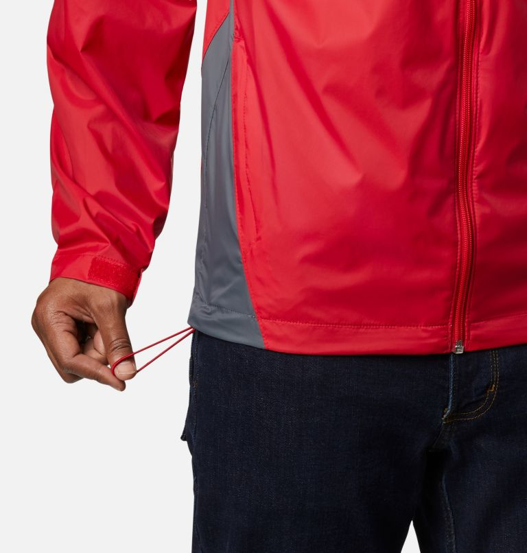 Glennaker Lake™ Rain Jacket | 613 | XXL Men's Glennaker Lake™ Rain Jacket, Mountain Red, Graphite, a2