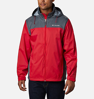 Men's Glennaker Lake™ Rain Jacket Glennaker Lake™ Rain Jacket | 820 | XL, Mountain Red, Graphite, front