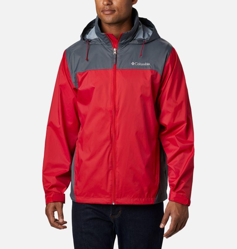 Glennaker Lake™ Rain Jacket   613   L Men's Glennaker Lake™ Rain Jacket, Mountain Red, Graphite, front
