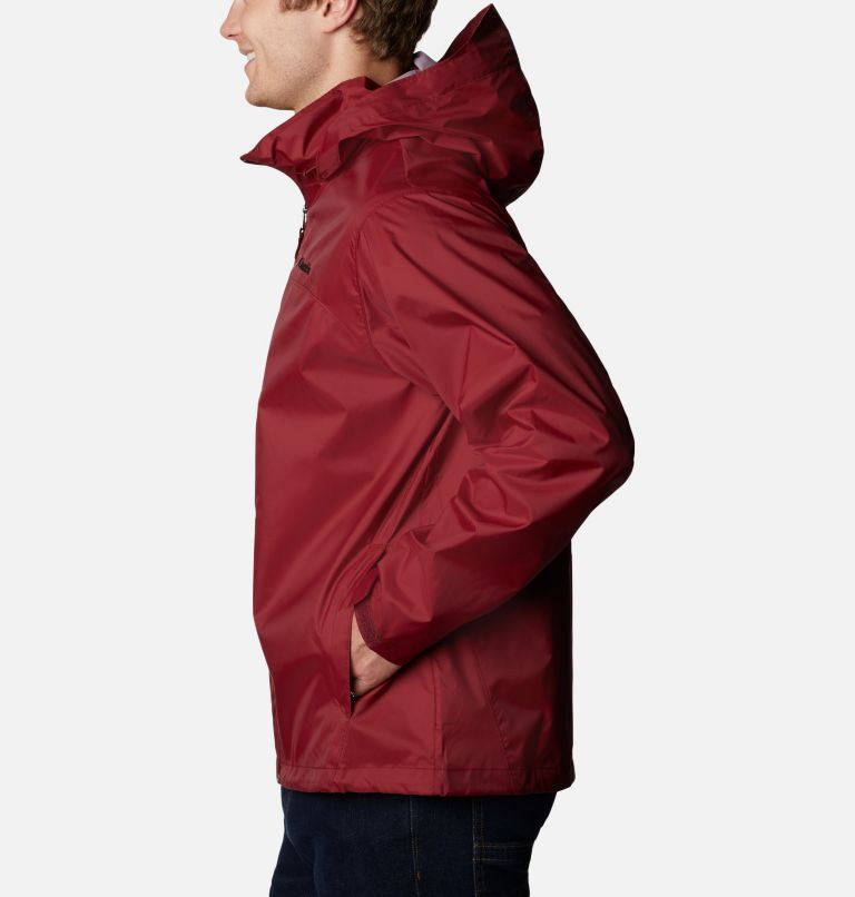 Glennaker Lake™ Rain Jacket | 665 | XL Men's Glennaker Lake™ Rain Jacket, Red Jasper, a1